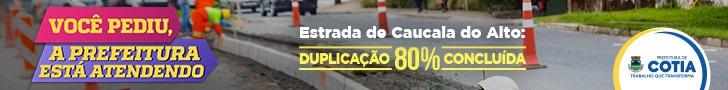 Prefeitura Cotia - Estrada de Caucaia