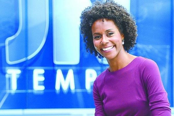 Maju Coutinho estreia como apresentadora de telejornal