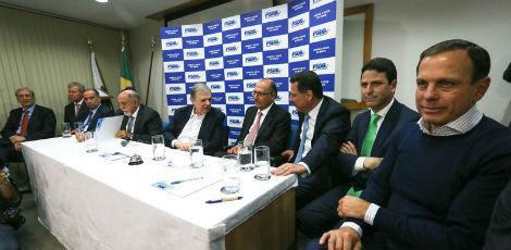 BRASÍLIA: PSDB permanece no governo e não entregará cargos