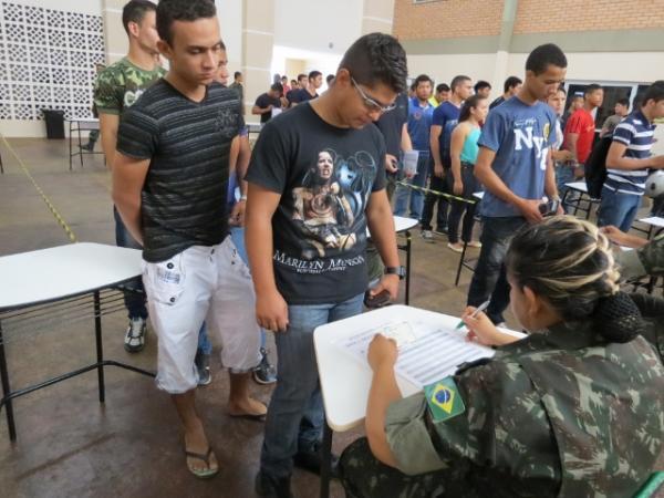 Prazo para alistamento militar dos nascidos em 1999 termina no próximo dia 30