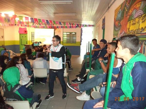 ALUNOS: Meio Ambiente reforça conscientização sobre uso da água em escolas
