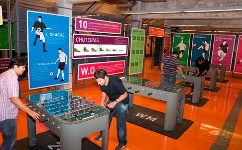 Museu do Futebol tem jogos, oficinas e visitas guiadas nos fins de semana