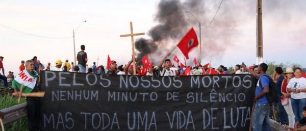 Norte e Nordeste concentram 90% das mortes de ativistas em 2016