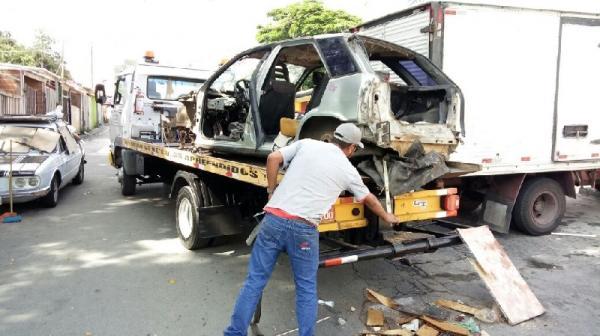 Em seis meses Prefeitura recolhe mais de 130 veículos abandonados