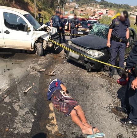 GCM prende cinco bandidos após perseguição e troca de tiros
