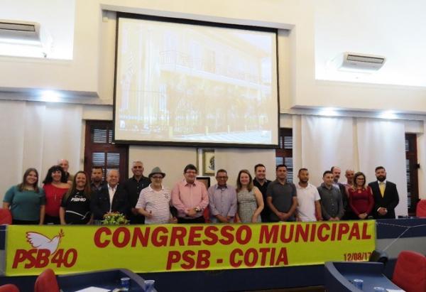 PSB de Cotia realiza eleições para escolha de seus dirigentes partidários