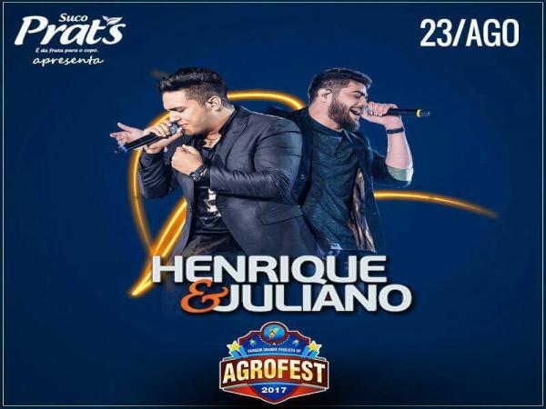 Show de Henrique e Juliano é remarcado para quarta-feira (23)