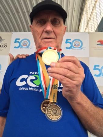 Cotia conquista quatro medalhas nos Jogos dos Idosos