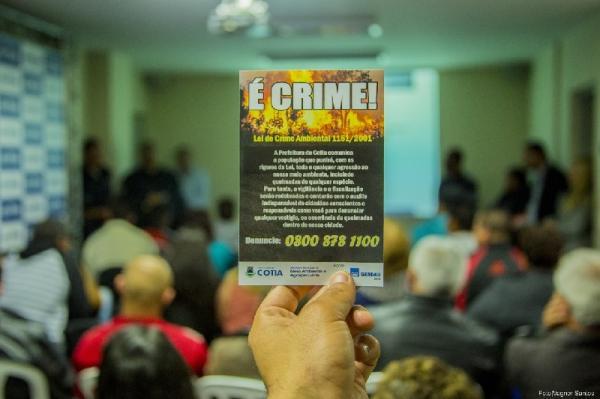 Prefeitura expõe canal de denúncias 24h para queimadas e outros crimes ambientais