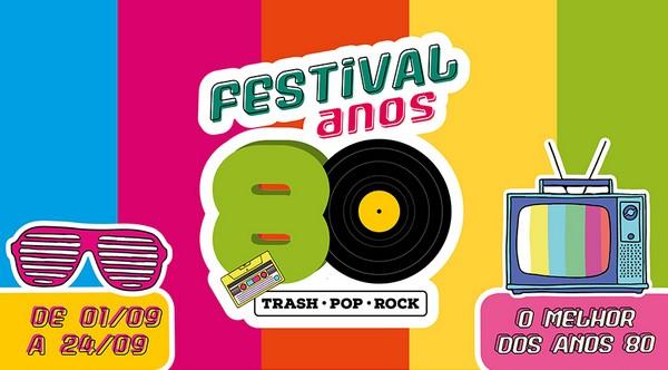 The Square realiza 'Festival dos Anos 80' na Granja Viana