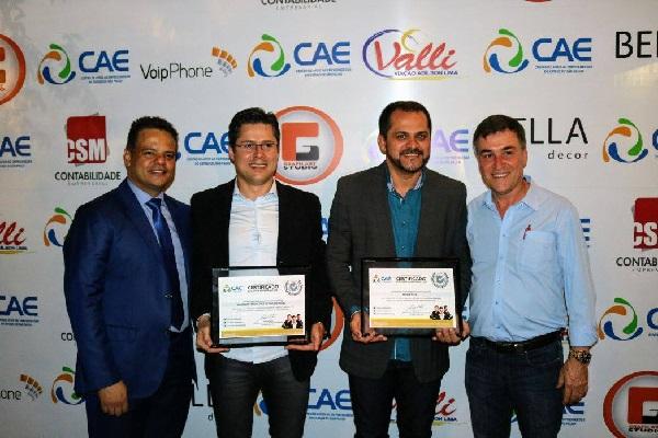 CAE entrega II Prêmio Top Empreendedor