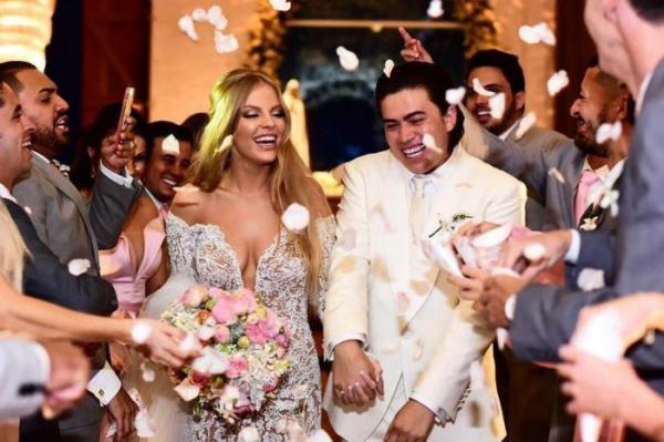Whindersson Nunes e gaúcha Luisa Sonza se casam em Alagoas