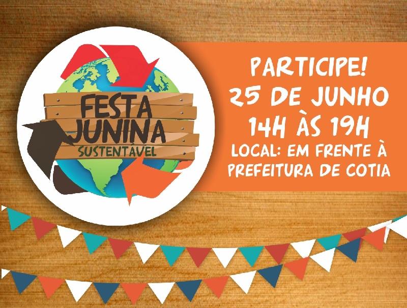 Sábado tem Festa Junina Sustentável em Cotia
