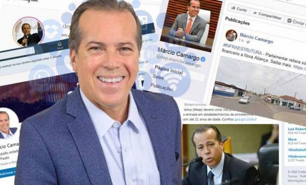 Marcio Camargo amplia a prestação de contas do mandato em redes sociais