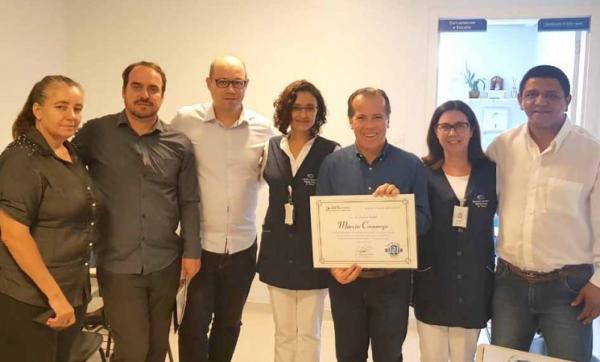 Deputado Marcio Camargo visita Hospital do Câncer de Franca