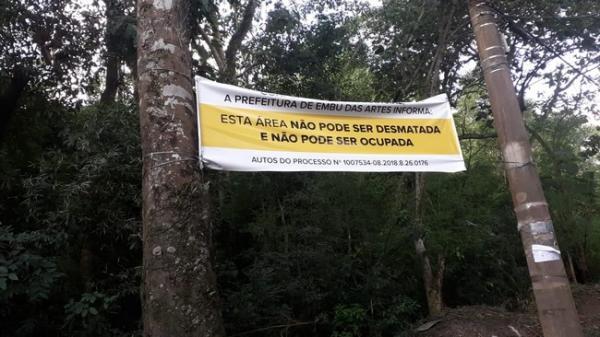 Justiça determina desocupação de terreno em área de manancial
