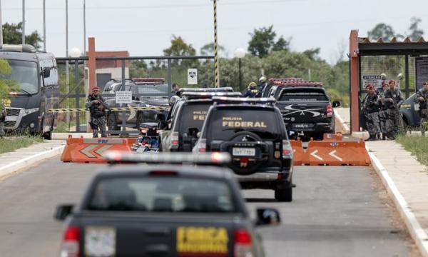Líder do PCC, Marcola já está no presídio federal de Brasília