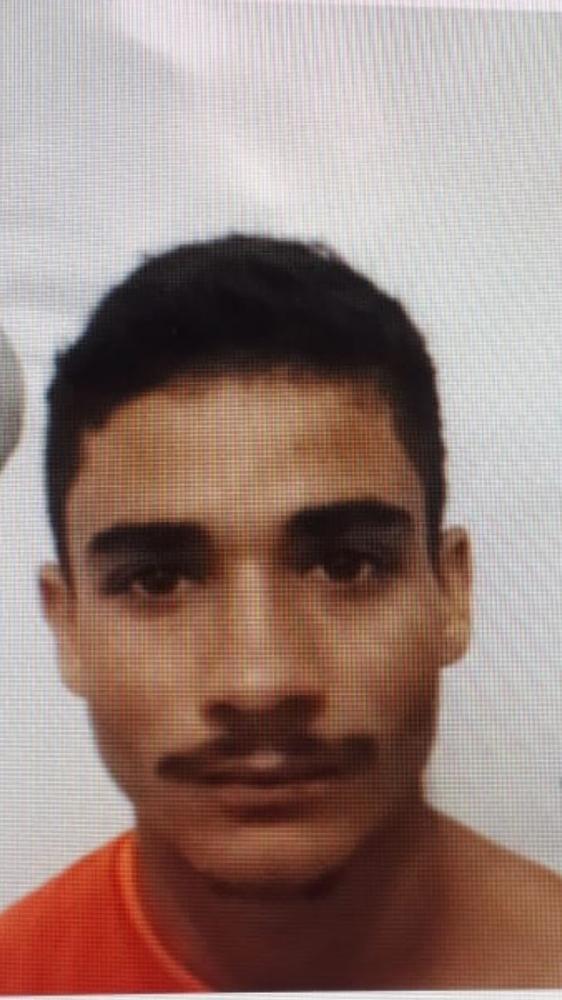 Polícia busca informações de ladrão que atirou em comerciante em MS — Foto: Polícia Civil/Divulgação