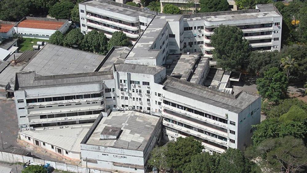 Novo caso de meningite foi confirmado pelo Hospital Universitário João de Barros Barreto. — Foto: Alexandre Moraes / UFPA