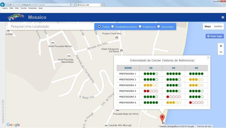 Anatel lança ferramenta para consulta de sinal de celular