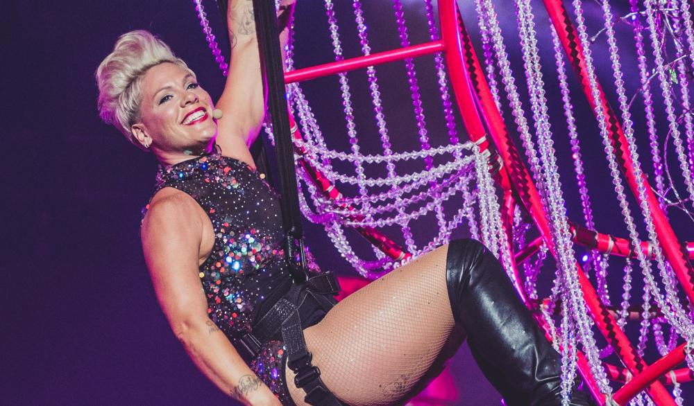 Pink faz o que nenhum outro artista fez em um dos melhores shows do Rock In Rio