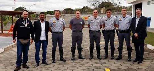 Polícia Rodoviária recebe representantes de motociclistas para tratar sobre corredor na Raposo Tavares