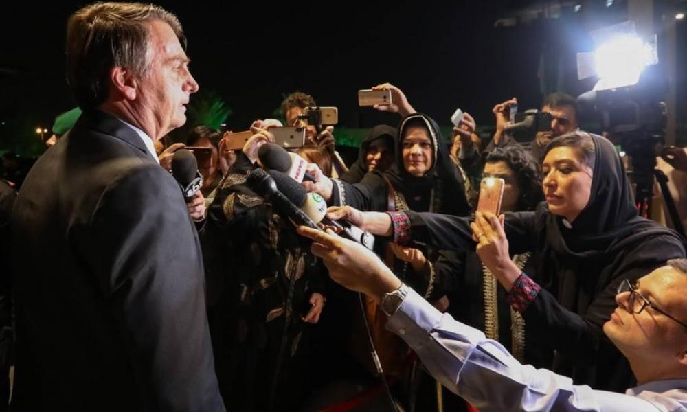 'Todo mundo gostaria de passar uma tarde com um príncipe', diz Bolsonaro após jantar com Bin Salman