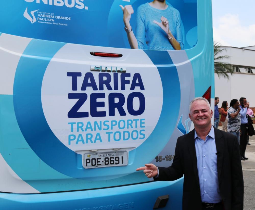Programa Tarifa Zero: usuários e empresas deverão se cadastrar a partir do dia 5 de novembro