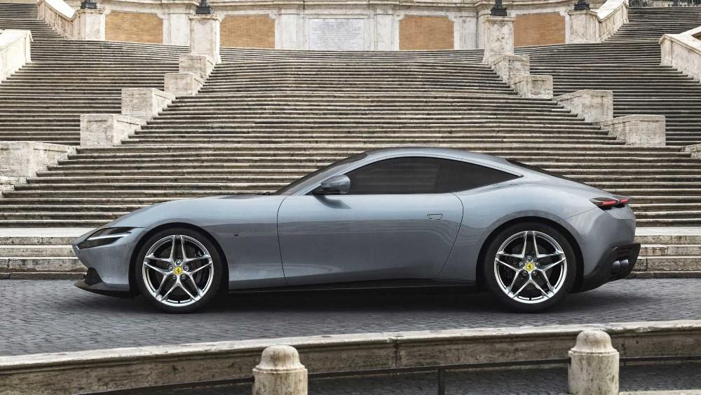 Ferrari Roma 2020, uma homenagem à