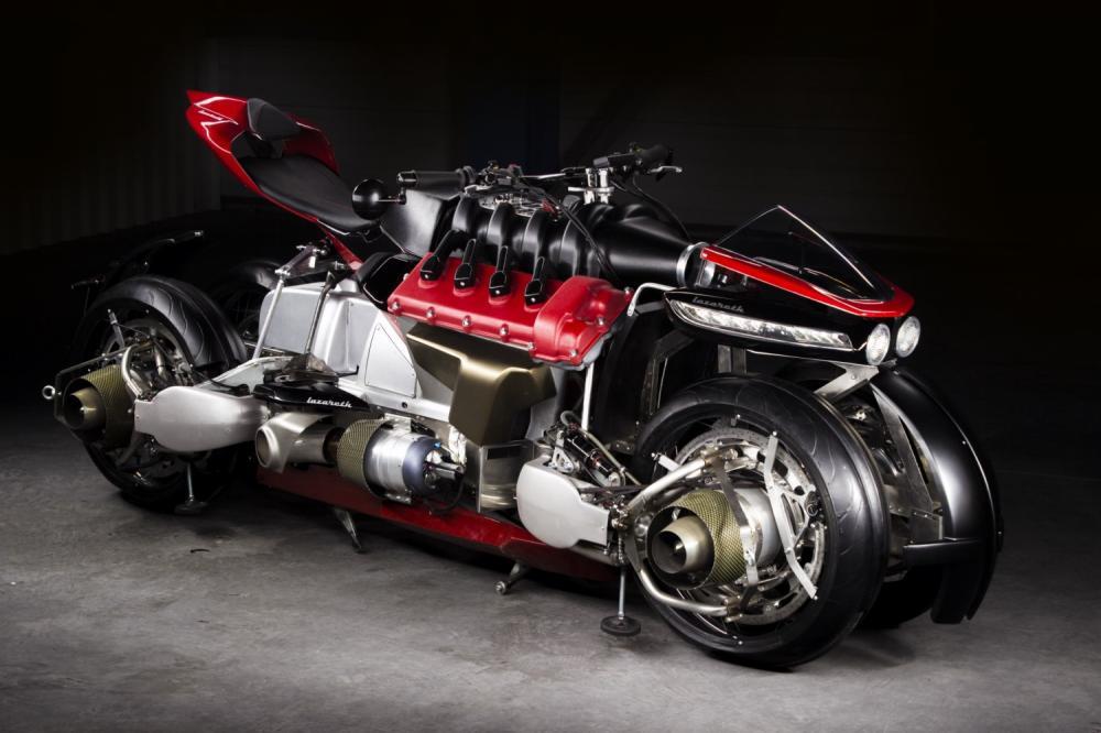 Motor Maserati V8 com 1300 cavalos e até 6 turbinas.