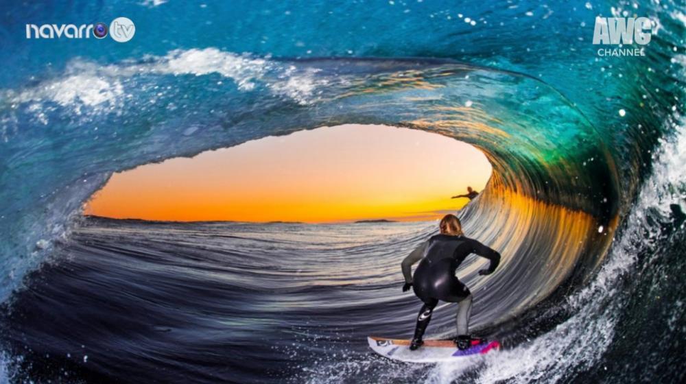Fernando Navarro chega no Havaí para a cobertura do mundial de surfe.