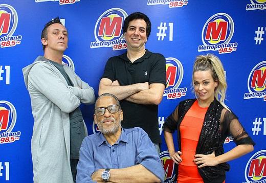 Chupim, da Metropolitana FM, volta ao-vivo nessa segunda-feira (03)
