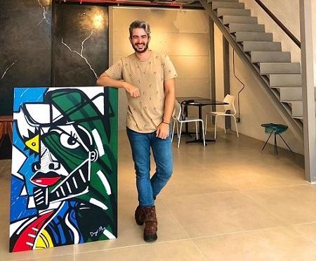 Artista Plástico Diego Moura expõe obras surrealistas na Vogue Gallery Brasil, no Rio