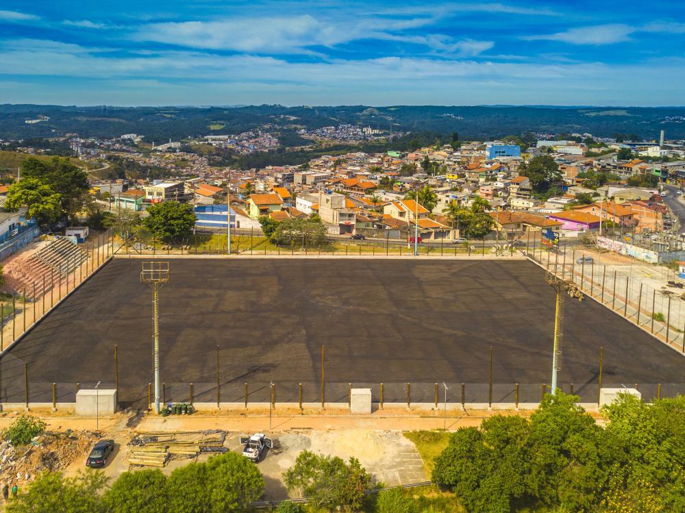 Implantação do novo Complexo Esportivo Atalaia está 50% concluído