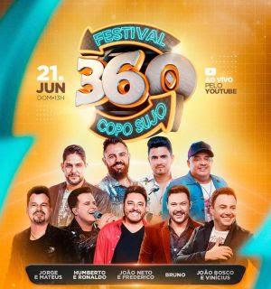 Canal Sertanejeiro transmitirá Festival 360