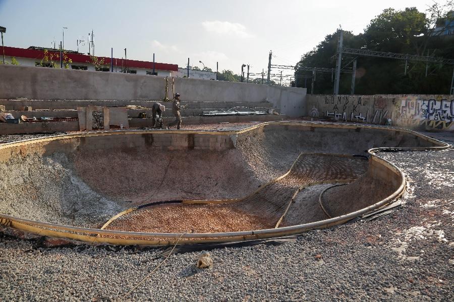 Skate Park Itapevi ficará pronto em julho