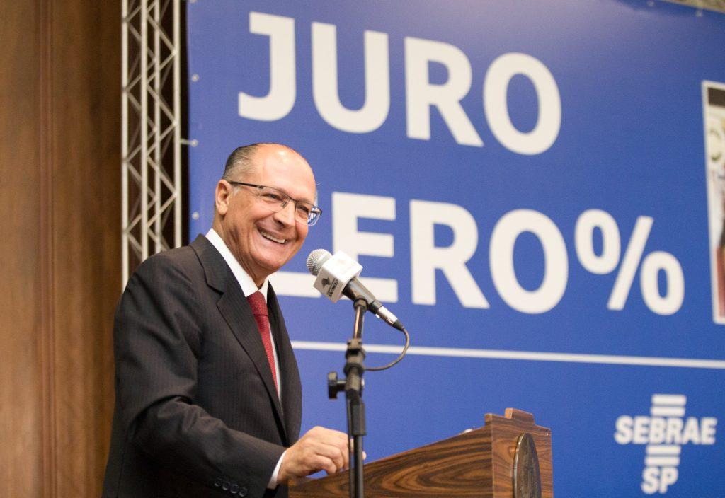 Alckmin lança 'Juro Zero Empreendedor'
