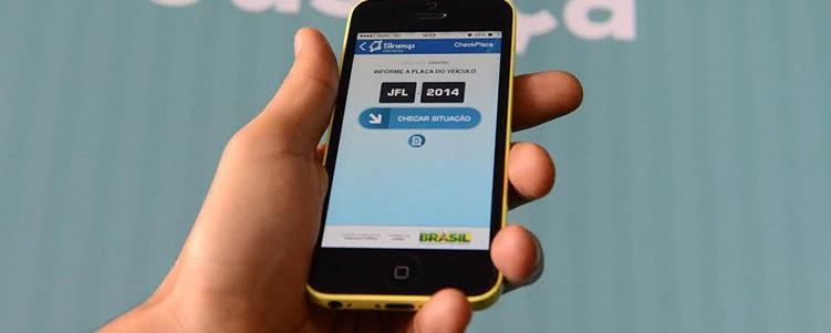 Aplicativo de celular já ajudou a recuperar 219 mil veículos
