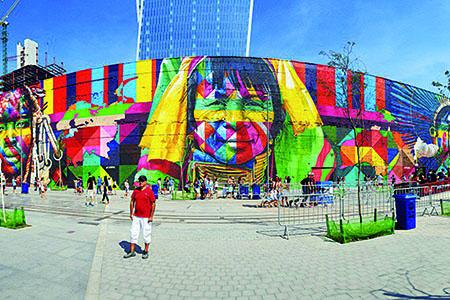 Itapevi terá o maior mural grafitado do mundo