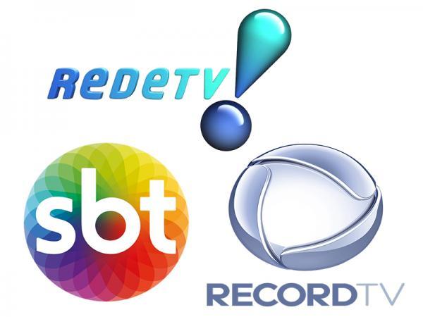 Fato histórico: SBT, Record e RedeTV! juntas
