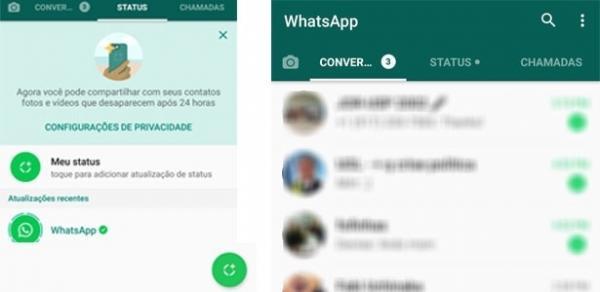 WhatsApp Status já está disponível no Brasil