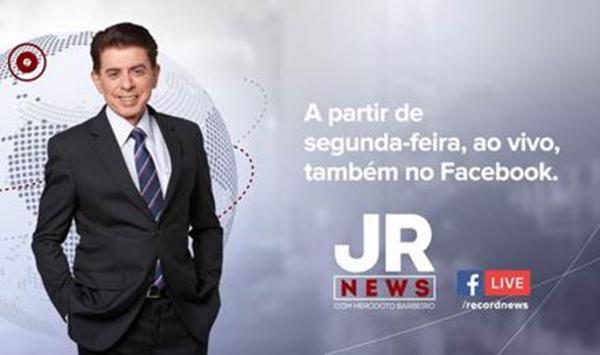 JR News terá transmissão ao vivo nas redes sociais