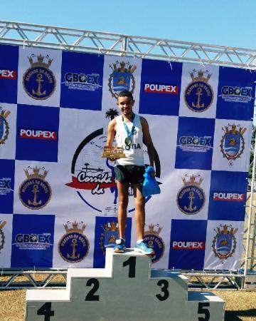Atletismo de Cotia conquista medalhas