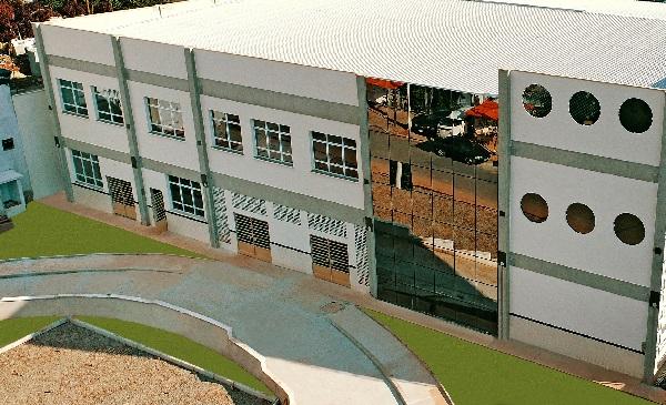 Construção do novo Colégio Bernardino no Bairro Cidade São Pedro chega em sua reta final