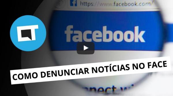 Como denunciar notícias falsas no Facebook